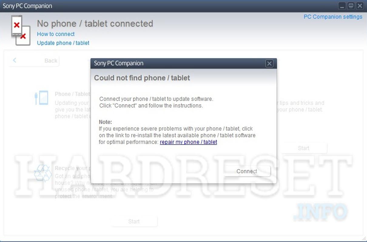 Hard Reset, Update, fix lỗi các dòng điện thoại SONY XPERIA
