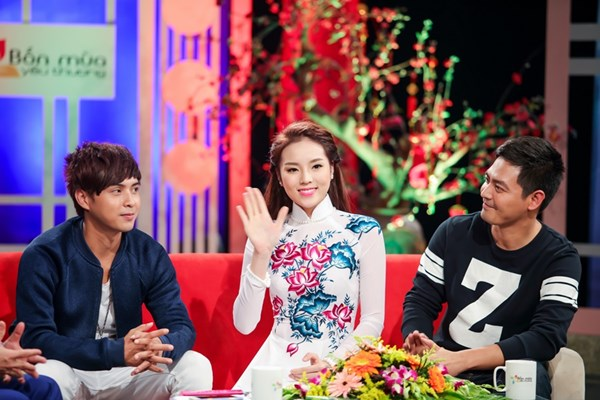 Hoa hậu Kỳ Duyên cùng Hồ Quang Hiếu, Phan Anh tiết lộ dự định Tết 2016