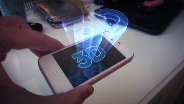 Apple đang phát triển loại iPhone màn hình hiển thị ba chiều (3D) trong phòng thí nghiệm của họ ở Đài Loan.