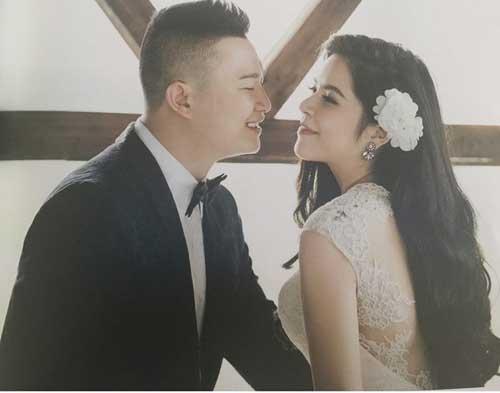 Ảnh cưới ngọt ngào của Thế Dũng và Ngọc Diệp