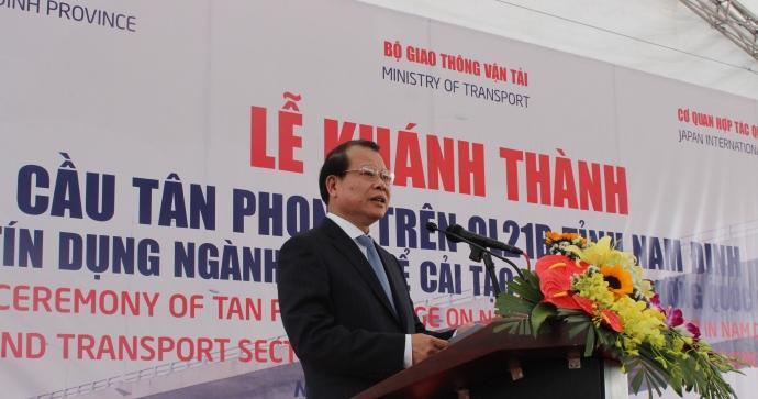 Phó Thủ tướng Vũ Văn Ninh phát biểu tại buổi lễ