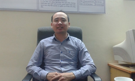Luật sư Phan Nhật Luận - Hội luật sư thành phố Hà Nội.
