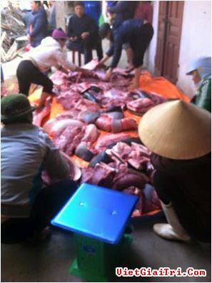 Hình ảnh xẻ thịt cá voi chia chác lan truyền trên mạng xã hội – (Ảnh: FB). Đọc thêm tại: http://www.vietgiaitri.com/xa-hoi/doi-song/2016/01/co-xe-thit-ca-voi-dat-vao-bo-bien-o-nam-dinh-nhung-khong-an/#ixzz3y83XWtdB