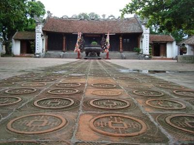 Cung Trùng Quang - Nơi thờ tự gia tộc nhà Trần