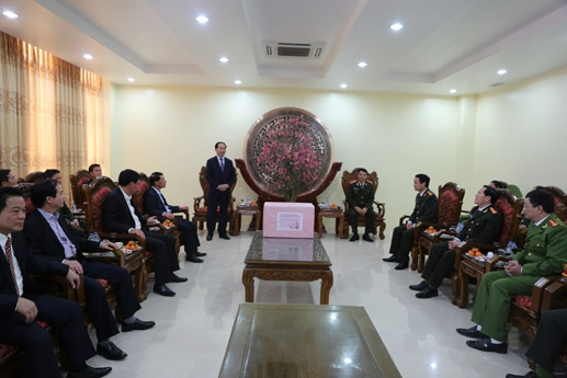 Nhân dịp này, người đứng đầu Bộ Công an cũng đã có nhiều ý kiến chỉ đạo Công an Nam Định trong công tác đảm bảo ANTT.