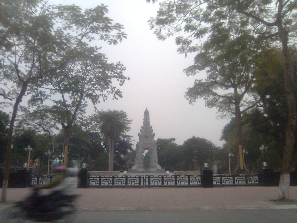 Đài Tưởng Niệm Liệt Sĩ Thành phố Nam Định