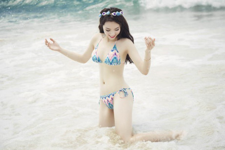 Hoàng hồn khi thấy ảnh Hoa hậu Kỳ Duyên trên bìa đĩa sex