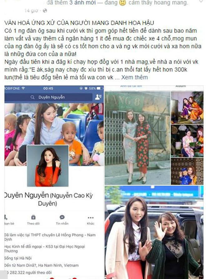 Người phụ nữ này chê trách cách hành xử kém văn hóa của Hoa hậu Việt Nam 2014.