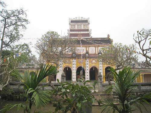 Chùa Cổ Lễ tại huyên Trực Ninh, tỉnh Nam Định