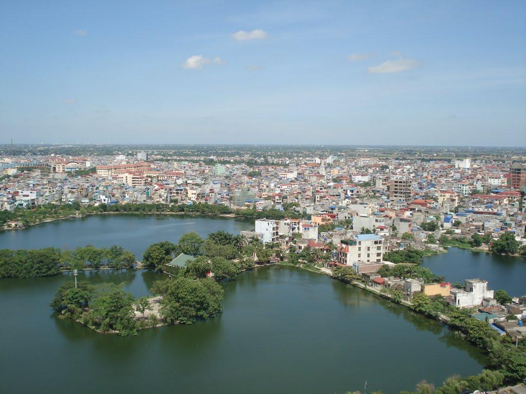 Hồ Truyền Thống – Công Viên Tức Mặc Nam Định