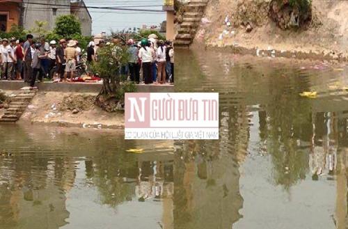 Hiện trường vụ tự tử tại TT Yên Định.