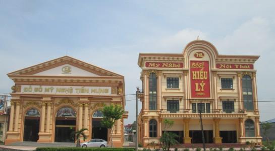làng nghề gỗ tại Nam Định