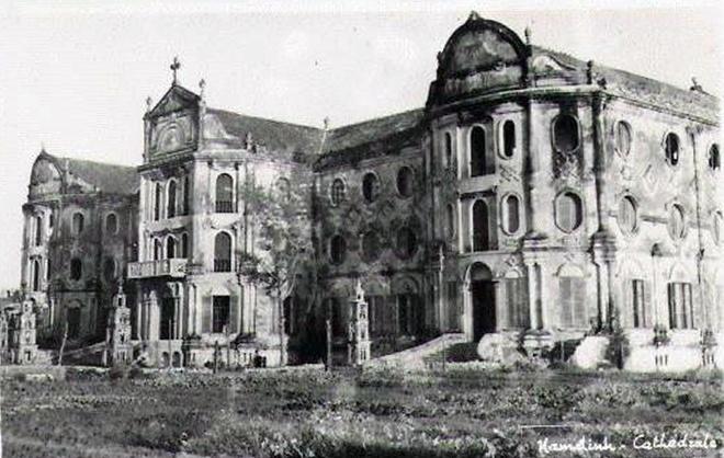 Trường Nguyễn Khuyến – Kiến trúc lạ nhất Thành Nam