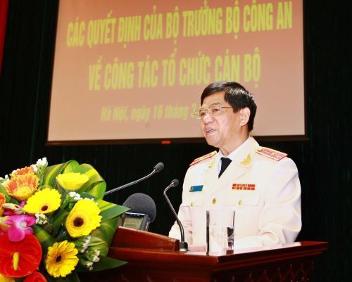 Trong ảnh: Thiếu tướng Đoàn Duy Khương, Giám đốc Công an thành phố Hà Nội