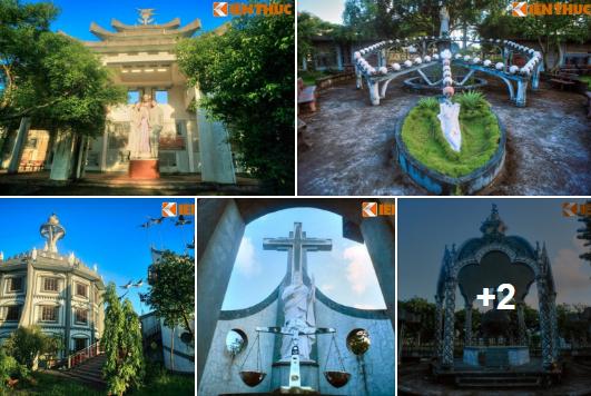 Nam Định:Thăm khu vườn Thiên chúa độc nhất vô nhị Việt Nam