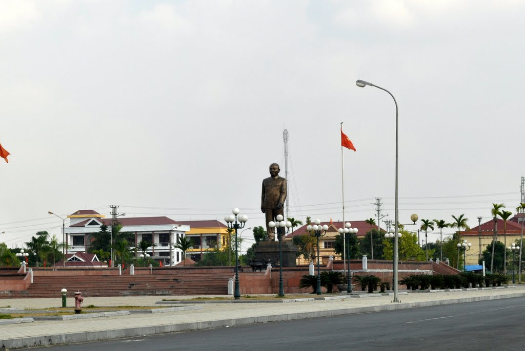 Công Viên Tượng Đài Cố Tổng Bí Thư Trường Chinh