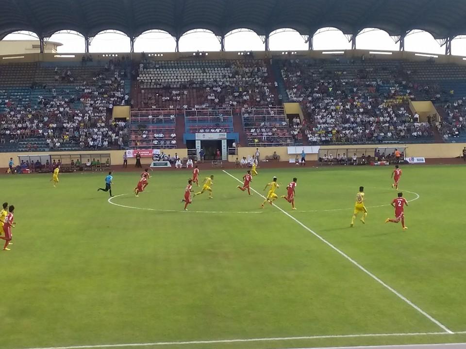 Nam Định tiếp tục bất bại với chiến thắng tưng bừng  3 – 0 trước Bình Phước