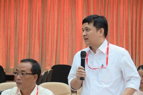 Giám đốc Lâm Nguyễn Hải Long trả lời chất vấn