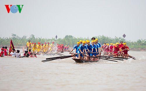 Hội thi bơi chải tại Nam Định - Ảnh sưu tầm