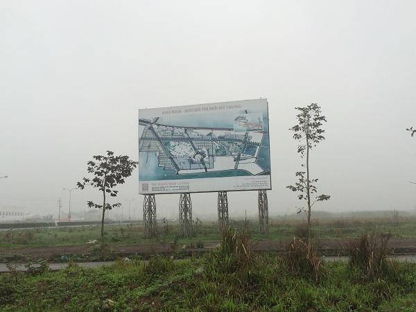 Khu đô thị Mỹ Trung của tập đoàn Nam Cường bỏ hoang, cỏ dại mọc um tùm cả chục năm qua