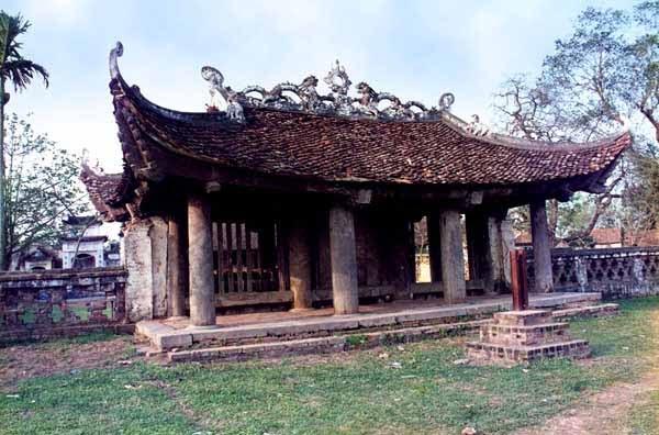Tam quan chùa Đại Bi