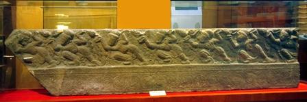 Thành bậc lan can tháp Chương Sơn thời Lý thế kỷ XII