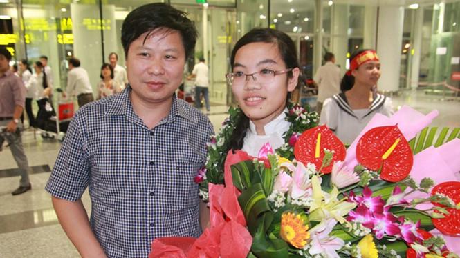 Đinh Thị Hương Thảo tiếp tục giành huy chương bạc tại Olympic Vật lý châu Á- Ảnh: Cẩm Giang