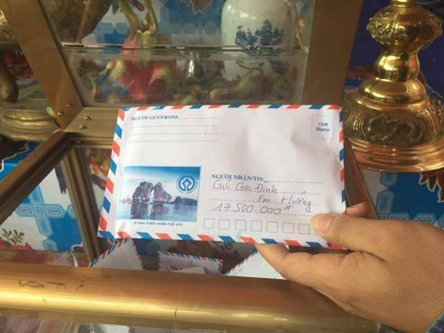 Số tiền Hội đồng hương Hải Hậu quyên góp ủng hộ gia đình em Hướng