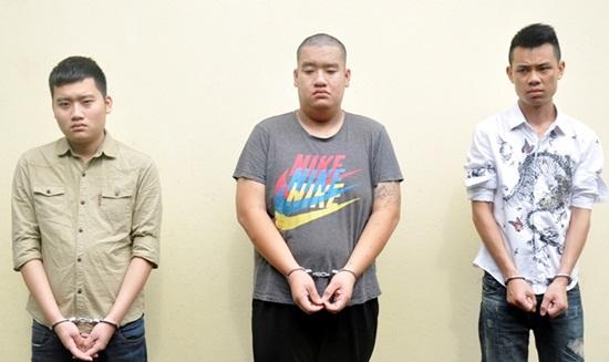 Từ trái sang: Nam, Linh, Hưng
