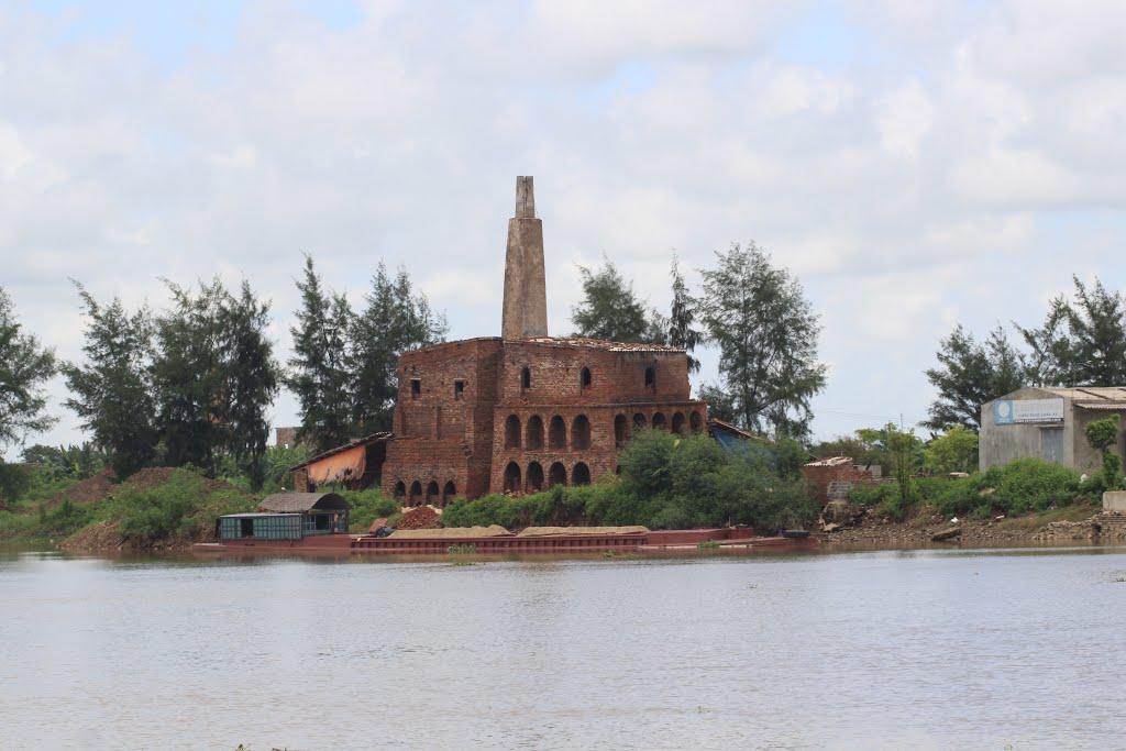 NAM ĐỊNH - Nghĩa Hưng - Sông Ninh Cơ đoạn cầu phao Ninh Cường