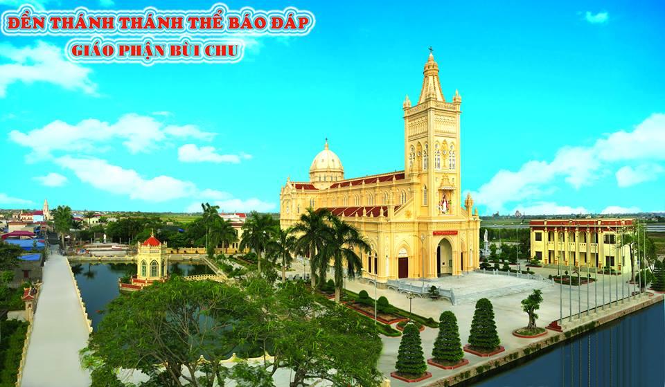 Đền Thánh Báo Đáp - Giáo Phận Bùi Chu Nam Định