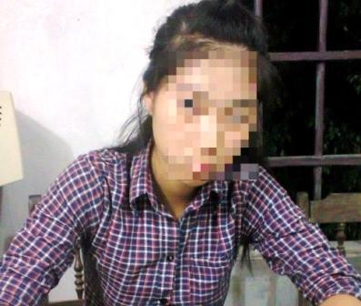 Em N. T. D. (SN 2000), tại trụ sở UBND xã Giao Hà, huyện Giao Thủy