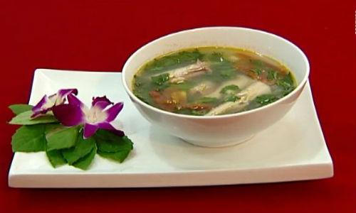Lạ lẫm món cá khoai nấu rau bớp Nam Định mát lành