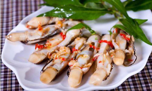 Con Móng Tay – Đặc Sản vùng biển Nam Định