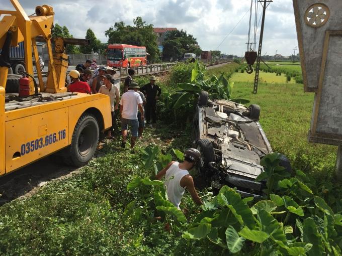 Vụ tai nạn ngày 23/7 .