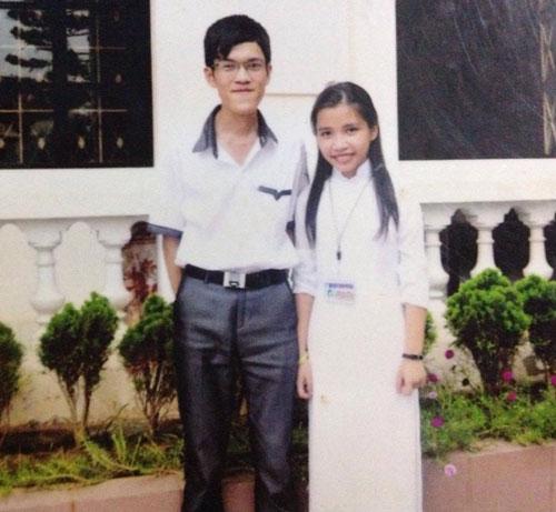 Thục và Thảo khi còn là học sinh cấp 3 tại trường chuyên Lê Hồng Phong, Nam Định.