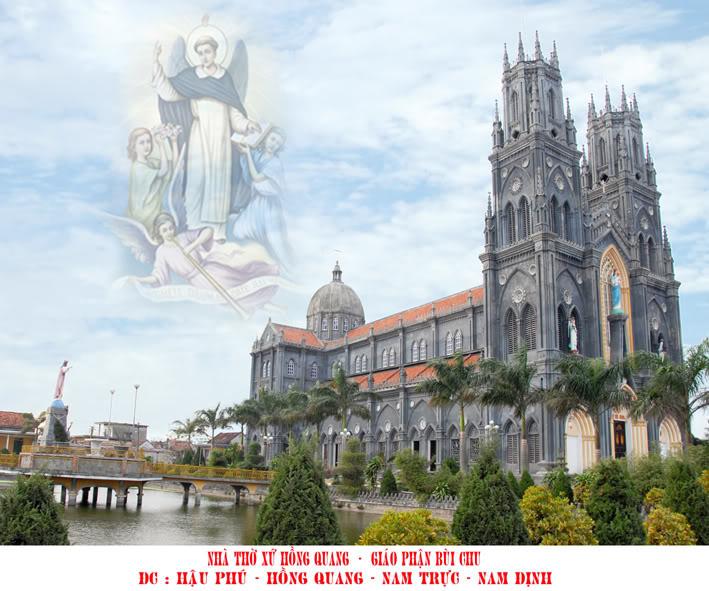 Nhà thờ xứ Hồng Quang - Giáo Phận Bùi Chu