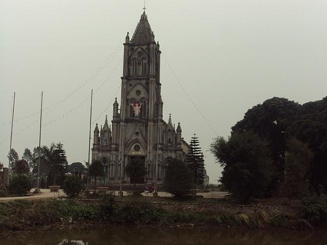 Nhà thờ Giáo xứ Dương A Giáo hạt Báo Ðáp