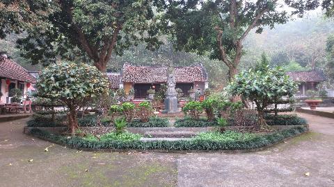 Quang cảnh chùa Ngô Xá (Phi Lai tự).