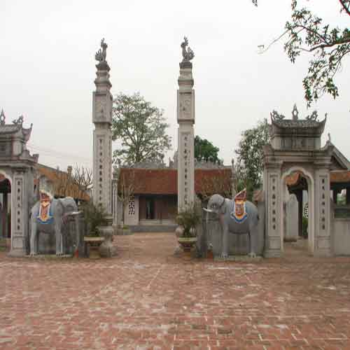Đền thờ Trạng Hiền tại Nam Định.
