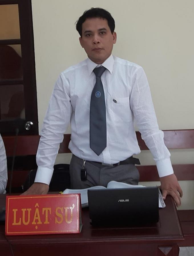 Luật sư Nguyễn Công Thành.