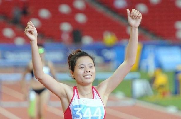 Nguyễn Thị Huyền không vượt qua vòng loại nhưng thành tích khá tốt.