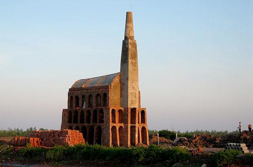 Kiểu kiến trúc độc đáo của những lò gạch ở Trực Hùng, Trực Ninh, Nam Định