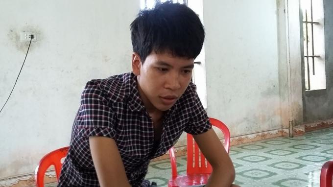 Đinh Tiên Sơn người đi cùng Trường hôm xảy ra án mạng khẳng định là bị chủ vườn dưa đánh.