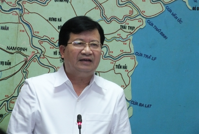 Phó Thủ tướng Trịnh Đình Dũng yêu cầu giảm tối thiểu hết sức thiệt hại do bão.