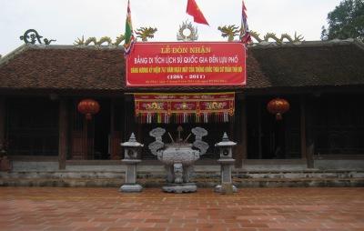 Đền Lựu Phố – Di tích lịch sử Quốc gia