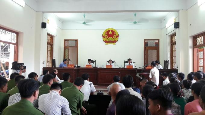Phiên tòa xét xử vụ bắt bạc tại xã Giao Tân - Giao Thủy - Nam Định