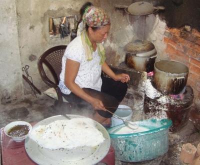 Bánh cuốn làng Kênh xưa và nay