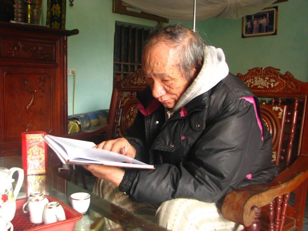 Nhà nghiên cứu Bùi Văn Tam – người được GS Lê Văn Lan đánh giá là tác giả chủ lực trong nghiên cứu và viết về Lương Thế Vinh.