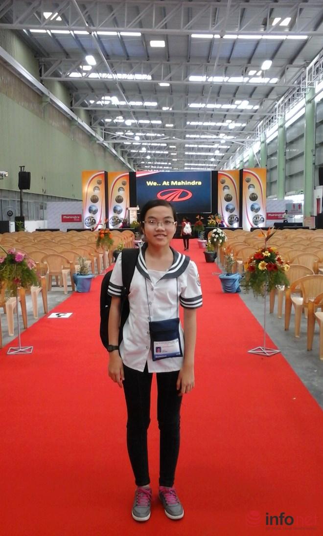Đinh Thị Hương Thảo – học sinh trường THPT chuyên Lê Hồng Phong (Nam Định)